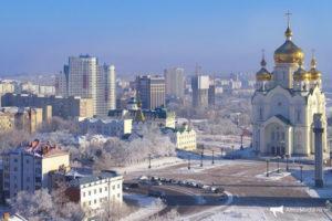 Грузоперевозки Хабаровск. Перевезти груз по России из Хабаровска