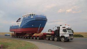 Транспортировка морского и речного транспорта по России