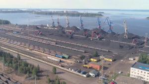 Перевезти груз в порт Высоцк